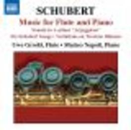 FLUTE & PIANO MUSIC GRODD, NAPOLI Audio CD, F. SCHUBERT, CD