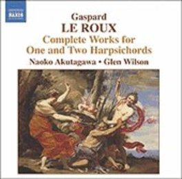 COMPLETE WORKS FOR ONE & W/NAOKO AKUTAGAWA, GLEN WILSON... G. LE ROUX, CD