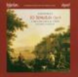 10 SONATAS OP.8 LOCATELLI TRIO Audio CD, A. LOCATELLI, CD