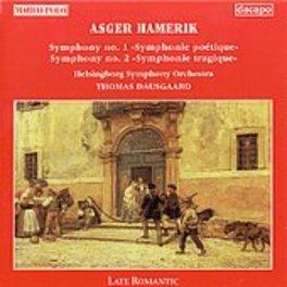 SYMPHONIES 1 & 2 ASGER HAMERIK, CD