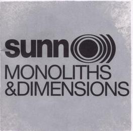 MONOLITHS AND DIMENSIONS Audio CD, SUNN O, CD