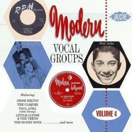 MODERN VOCAL GROUPS VOL.4 CADETS, TROJANS, SOUNDS, HONEY BOYS, JACKS, ... Audio CD, V/A, CD