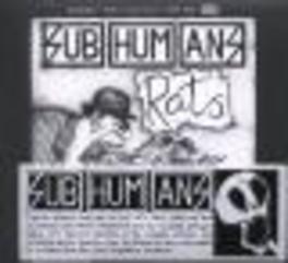 TIME FLIES/RATS Audio CD, SUBHUMANS, CD
