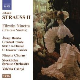 FURSTIN NINETTE STOCKHOLM STRAUSS ORCHESTRA/V.CSANYI/SAMUEL JARRICK Audio CD, STRAUSS, J. -JR-, CD