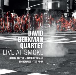 LIVE AT SMOKE Audio CD, BERKMAN, DAVID -QUARTET-, CD
