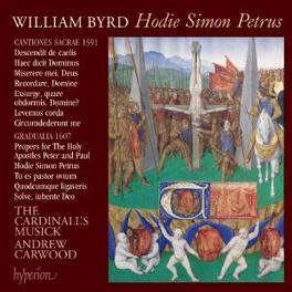 HODIE SIMON PETRUS CARDINALLS MUSICK/CARWOOD Audio CD, W. BYRD, CD