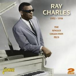 SINGLES COLLECTION PLUS.. .. 1952-1958 . 2CD'S 50 TKS ON JASMINE Audio CD, RAY CHARLES, CD