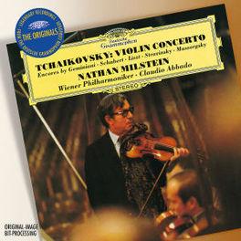 VIOLIN CONCERTOS & ENCORE WIENER PHILHARMONIKER/ABBADO/WORKS:TCHAIKOVSKY/GEMINIAN Audio CD, NATHAN MILSTEIN, CD