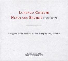 NIKOLAUS BRUHNS GHIELMI'S TRIBUTE TO BRUHNS (1665-1697) Audio CD, LORENZO GHIELMI, CD
