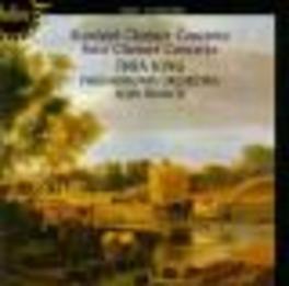 CLARINET CONCERTO W/THEA KING-CLARINET, PHILHARMONIA ORCHESTRA, ALUN FRAN Audio CD, STANFORD/FINZI, CD