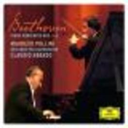 PIANO CONCERTOS VEBERLINER PHILHARMONIKER/CLAUDIO ABBADO Audio CD, L. VAN BEETHOVEN, CD