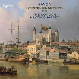 STRING QUARTETS OP.17 LONDON HAYDN QUARTET Audio CD, J. HAYDN, CD