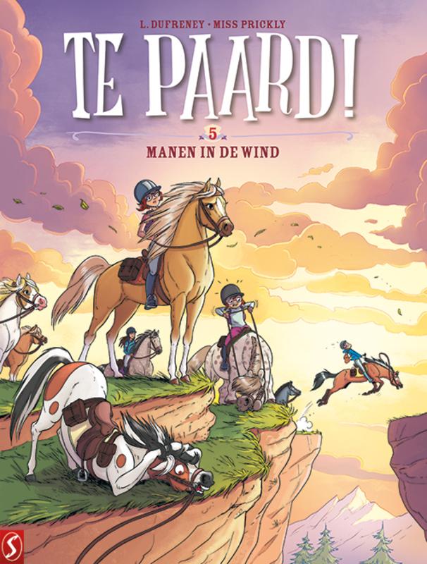 TE PAARD 05. MANEN IN DE WIND TE PAARD, Dufreney, Laurent, Paperback