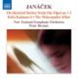 ORCHESTRAL SUITES VOL.2 NEW ZEALAND S.O./BREINER Audio CD, L. JANACEK, CD