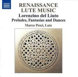 RENAISSANCE LUTE MUSIC MARCO PESCI, CD