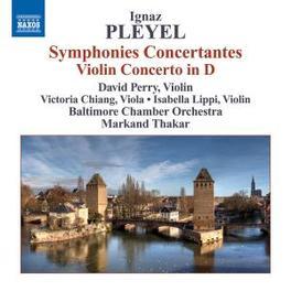 SYMPHONIA CONCERTANTE D.PERRY/V.CHIANG/I.LIPPI Audio CD, I. PLEYEL, CD