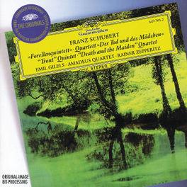 FORELLEN QUINTETT EMIL GILELS, AMADEUS QUARTET, RAINER ZEPPERITZ Audio CD, F. SCHUBERT, CD