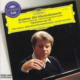 KLAVIERKONZERTE EMIL GILELS, BERLINER PHILHARMONIKER, EUGEN JOCHUM Audio CD, J. BRAHMS, CD
