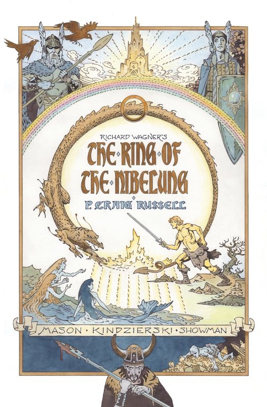 Ring Of The Nibelung P. Craig Russell, Paperback