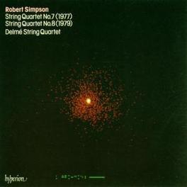 STRING QUARTETS 7&8 Audio CD, R. SIMPSON, CD