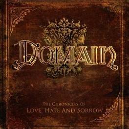 LOVE HATE AND SORROW Audio CD, DOMAIN, CD