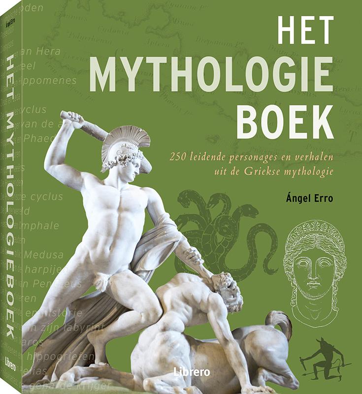 Het Mythologieboek Erro, Ángel, Hardcover