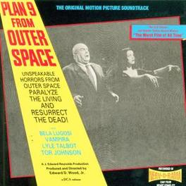 PLAN 9 FROM OUTER SPACE Audio CD, OST, CD