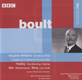 SYMPHONY NO.6/FANTASIA ON LPO/NEW PHILHARMONIC ORCH./BBC SYMP Audio CD, VAUGHAN WILLIAMS/HADLEY/B, CD
