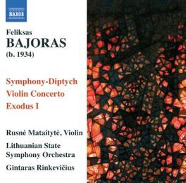 SYMPHONIC DIPTYCH LITHUANIAN S.O./RINKEVICIUS Audio CD, BAJORAS, CD