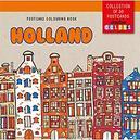Postcard colouring book...