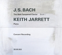 WELL-TEMPERED CLAVIER I WORKS BY BACH / LIVE REC. FROM TROY, NEW YORK 1987
