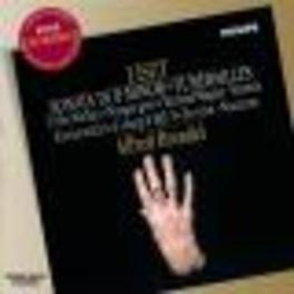 SONATA IN B MINOR W/ALFRED BRENDEL Audio CD, F. LISZT, CD