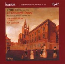 12 CONCERTI GROSSI BRANDENBURG CONSORT/GOODMAN Audio CD, AVISON, CD