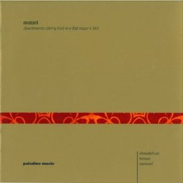 DIVERTIMENTO (STRING TRIO EHRENFELLNER/LERMER/RUMMEL W.A. MOZART, CD