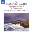 SYMPHONY NO.2 BBC PHILHARMONIC ORCHESTRA/MAXWELL DAVIES