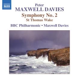 SYMPHONY NO.2 BBC PHILHARMONIC ORCHESTRA/MAXWELL DAVIES P. MAXWELL DAVIES, CD