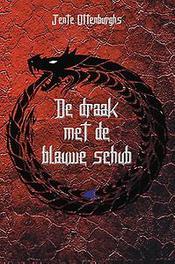 De draak met de blauwe schub Jente Ottenburghs, Paperback
