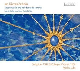 RESPONSORIA PRO HEBDOMADA COLLEGIUM 1704/V.LUKS J.D. ZELENKA, CD
