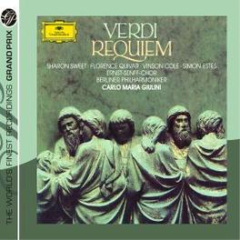 MESSA DA REQUIEM -COMPLET BERLINER PHILHARMONIKER/CARLO MARIA GIULINI Audio CD, G. VERDI, CD
