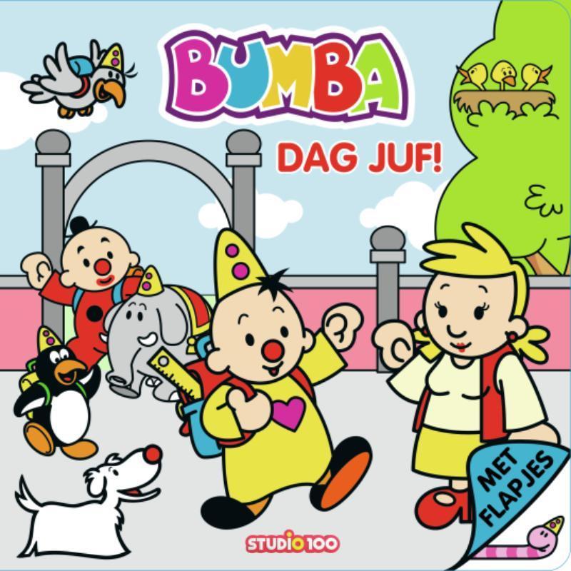 Bumba : foam boek met flapjes Dag Juf. Paperback