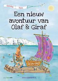 Olaf & Giraf en de Grote Plons. Marijke Aartsen, Hardcover