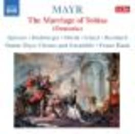 MARRIAGE OF TOBIAS SIMON MAYR CHORUS & ENSEMBLE//HAUK Audio CD, S. MAYR, CD