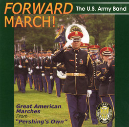 FORWARD MARCH! U.S. ARMY BAND, CD