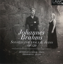 SONATAS FOR VIOLA & PIANO LANDAAS/HORTON J. BRAHMS, CD