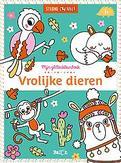 Glitterkleurboek: Vrolijke...