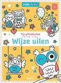 Glitterkleurboek: Wijze uilen