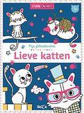 Glitterkleurboek: Lieve katten