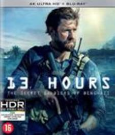 13 hours - Secret soldiers of Benghazi, (Blu-Ray 4K Ultra HD) Blu-Ray