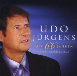 MIT 66 JAHREN-WAS WICHTIG Audio CD, UDO JURGENS, CD