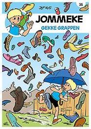 Gekke grappen Jommeke strip - nieuwe look, Delzenne, Philippe, Paperback